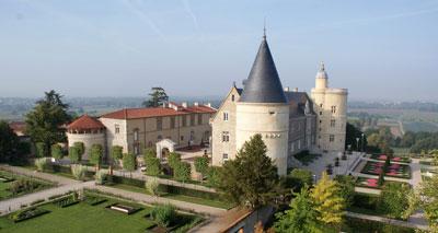 Chateau de Bouthéon proche de l'hotel à Andrezieux