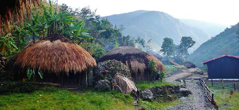 vallée de Belliem en Papouasie